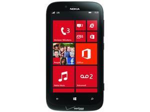 Nokia Lumia 822 VRZN Black AT&T 3G or Verizon 3G Only LTE Dual-Core 1.5GHz Verizon CDMA Windows 8 OS Cell Phone