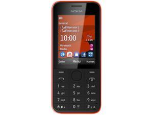Nokia 208.3 Red RM-950 NV LTAU1 Unlocked Cell Phone