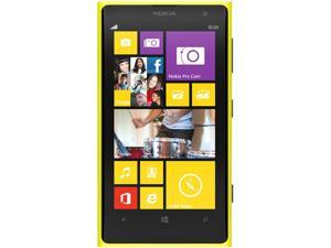 Nokia Lumia 1020 Amarillo/Yellow 3G 4G LTE Dual-Core 1.5GHz Unlocked Cell Phone (US LTE Bands)