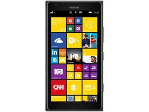 Nokia Lumia 1520.3 Black 3G 4G LTE Quad-Core 2.2GHz Unlocked Cell Phone (US LTE Bands)