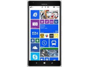 Nokia Lumia 1520.3 Blanco/White 3G 4G LTE Quad-Core 2.2GHz Unlocked Cell Phone (US LTE Bands)