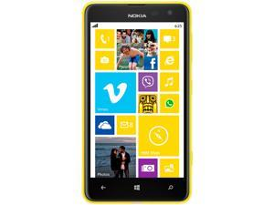Nokia Lumia 625.1 Yellow 4G LTE Dual-Core 1.2GHz Unlocked Cell Phone