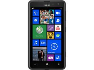 Nokia Lumia 625 Black 4G LTE Dual-Core 1.2GHz Unlocked Cell Phone