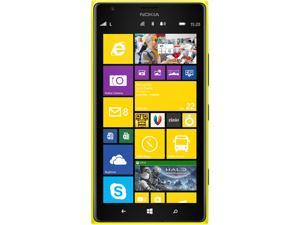 Nokia Lumia 1520 RM-940 Yellow 3G 4G LTE 16GB AT&T Branded Unlocked GSM Windows Phone