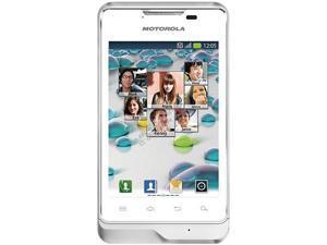 Motorola Motoluxe XT389 White 800MHz Unlocked GSM Android Cell Phone