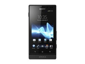 Sony Xperia Sola Black 3G Unlocked GSM Android Smart Phone w/ Dual Core / NFC / Micro SIM / 5MP