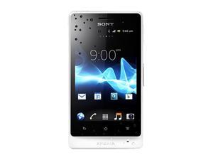 Sony Xperia advance ST27a White 3G Unlocked Cell Phone