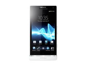 Sony Xperia SL LT26II White 3G Unlocked Cell Phone