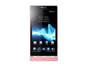 Sony Xperia SL LT26II Pink 3G Unlocked Cell Phone