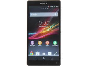 Sony Xperia ZL C6502 HSPA+ Black 3G Quad-Core 1.5GHz 16GB Unlocked Cell Phone