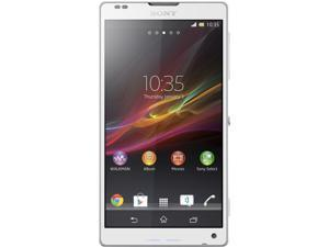Sony Xperia ZL C6506 White 4G LTE Quad-Core 1.5 GHz 16GB Unlocked Cell Phone