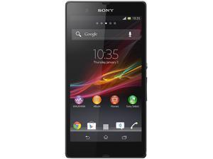 Sony Xperia Z C6603 LTE Black 16GB Unlocked Water Resistance Cell Phone