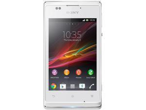 Sony Xperia E C1504 White 3G 1.0GHz Unlocked Cell Phone