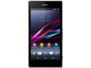 Sony Xperia Z1 HSPA+ (C6902) Black 3G Quad-Core 2.2GHz Unlocked Cell Phone