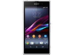 Sony Xperia Z1 HSPA+ (C6902) White 3G Quad-Core 2.2GHz Unlocked Cell Phone