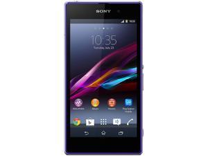 Sony Xperia Z1 HSPA+ (C6902) Purple 3G Quad-Core 2.2GHz Unlocked Cell Phone