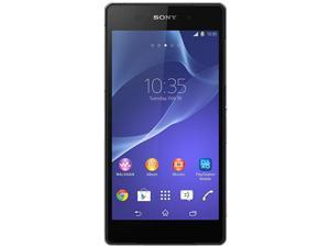 Sony Xperia Z2 LTE D6503 Black 3G 4G LTE Quad-Core 2.3GHz Unlocked Cell Phone