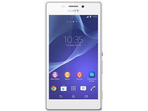 Sony Xperia M2 Dual SIM D2302 White 3G Unlocked Cell Phone
