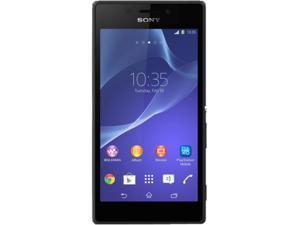 Sony Xperia M2 Aqua LTE D2406 Black 3G 4G LTE Unlocked Cell Phone