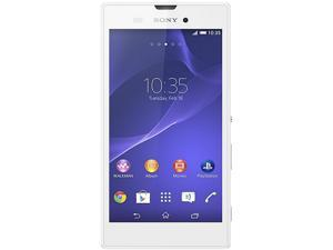 Sony Xperia T3 LTE D5106 White 3G 4G LTE Unlocked Cell Phone