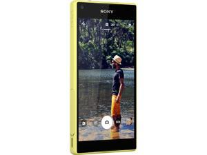 Sony Xperia Z5 Compact E5803 Yellow Unlocked Cell Phone