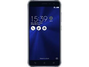 "Asus ZenFone 3 (ZE552KL) 64GB 4G LTE Sapphire Black SIM Unlocked Cell phone 5.5"" 4GB RAM"