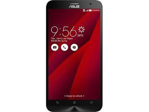 "ASUS Zenfone 2 Unlocked Smart phone, 5.5"" Red, 32GB Storage 4GB RAM, US Warranty"