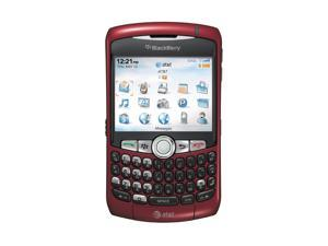 BlackBerry Curve Red Unlocked GSM Cell Phone w/ GPS / BlackBerry OS / 2MP Camera (8310)