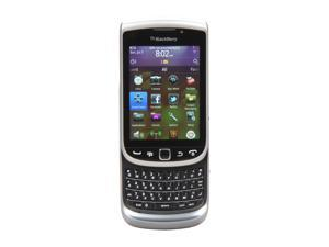 "BlackBerry Torch Gray 3G Unlocked GSM Blackberry OS Phone w/ Blackberry OS 7.0 / 3.2"" Screen / 5.0MP Camera (9810)"