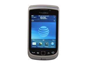 "BlackBerry Torch Black 3G Unlocked GSM Blackberry OS Phone w/ Blackberry OS 7.0 / 3.2"" Screen / 5.0MP Camera / NFC (9810)"
