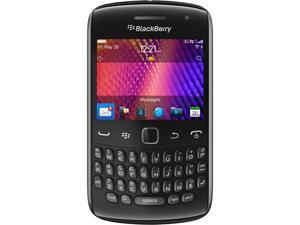 BlackBerry Curve 9350 Black 3G Sprint CDMA BlackBerry OS 7 Cell Phone