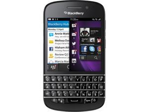 BlackBerry Q10 Black 3G 4G LTE Dual-Core 1.5GHz 16GB Unlocked Cell Phone