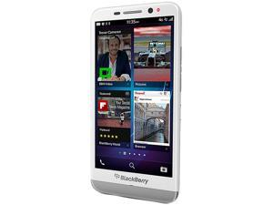 BlackBerry Z30 White 3G 4G LTE Dual-Core 1.7GHz 16GB 4G LTE Unlocked GSM OS 10.2 Cell Phone