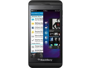 "BlackBerry Z10 STL100-1 16 GB storage, 2 GB RAM 16GB Unlocked GSM OS 10 Cell Phone 4.2"" Black"