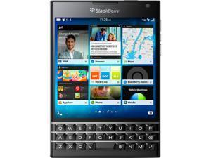 BlackBerry Passport Black Unlocked GSM BlackBerry 10.3 OS Cell Phone
