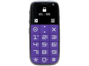 Just 5 J510 Purple Unlocked GSM Cell Phone