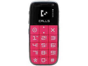 Just 5 J510 Pink Unlocked GSM Cell Phone