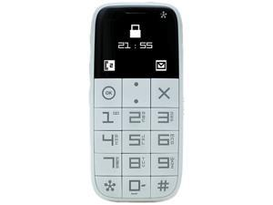 Just 5 J510 White Unlocked GSM Cell Phone