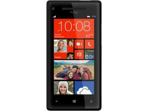 HTC Windows Phone 8X Black 3G 4G LTE Dual-Core 1.5GHz 16GB Unlocked Cell Phone