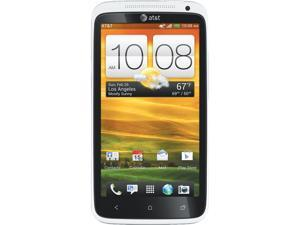 HTC One X White 3G 4G LTE At&t Unlocked GSM Cellular Phone