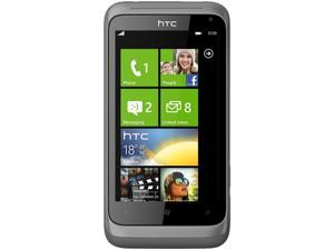 HTC Radar C110E Metal Silver Single-Core 1.0GHz Unlocked GSM Cellular Phone