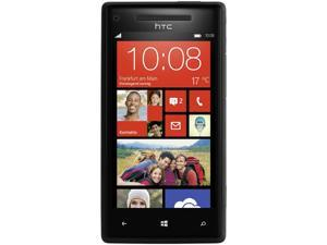 HTC 8X C620e Black 3G 4G LTE Dual-Core 1.5GHz 16GB Unlocked GSM Windows Cell Phone