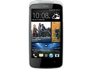 HTC Desire 500 White/Blue Quad-Core 1.2GHz Unlocked GSM Android Cell Phone