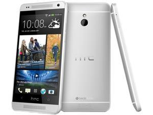 HTC One Mini Silver 3G LTE 16GB AT&T Branded Unlocked GSM 4G LTE Android Cell Phone