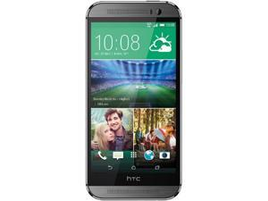HTC One M8 6525L Grey Verizon/GSM Unlocked Dual-Camera 4G LTE Smartphone