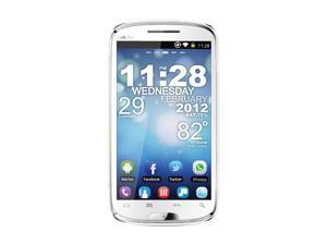 Blu Studio 5.3 D510 White 3G Unlocked GSM Android Smart Phone with Dual SIM / Android 2.3 / WiFi