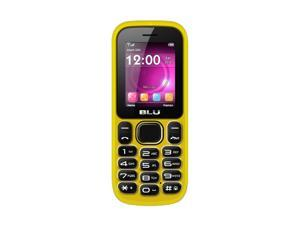 Blu Jenny T162 Yellow Unlocked Cell Phone