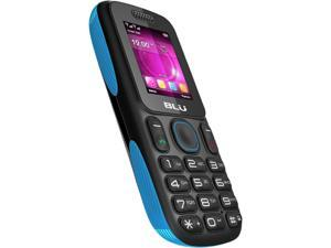 Blu Tank T190 Blue 1800mAh Battery Stereo FM Radio Camera Bluetooth Unlocked GSM Cell Phone