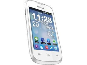 Blu Dash 3.5 D170a White 3G Unlocked Dual SIM Cell Phone