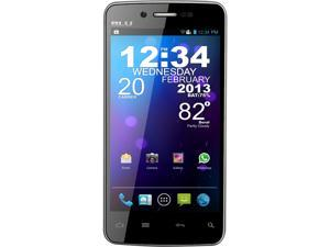 Blu Quattro 4.5 D440 Black 3G Quad-Core 1.5GHz 5.0 MP Camera Unlocked GSM Smart Phone